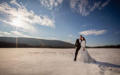 A téli esküvő árnyalatai