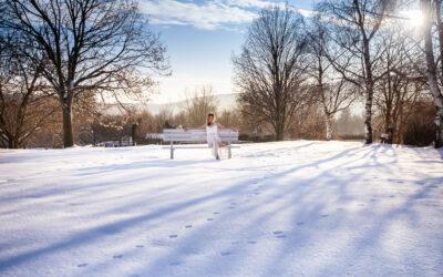 Ragyogó esküvő télen